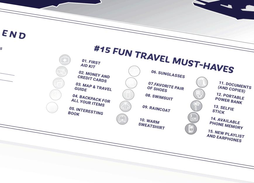 mapa zdrapka wakacje detal
