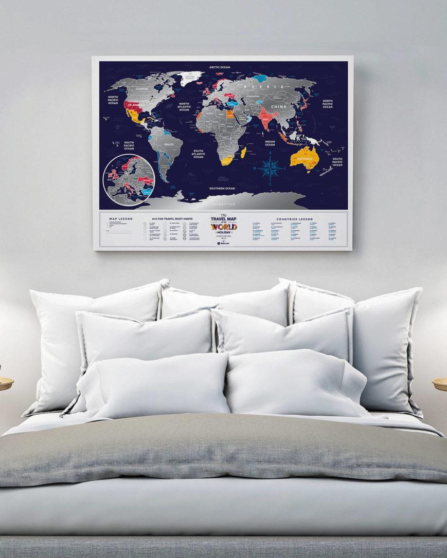 mapa wakacje swiat
