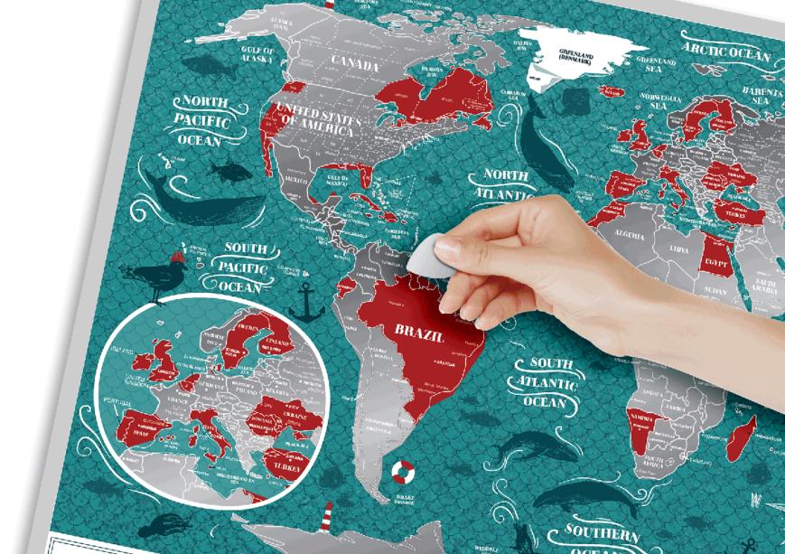 morska mapa żeglarza