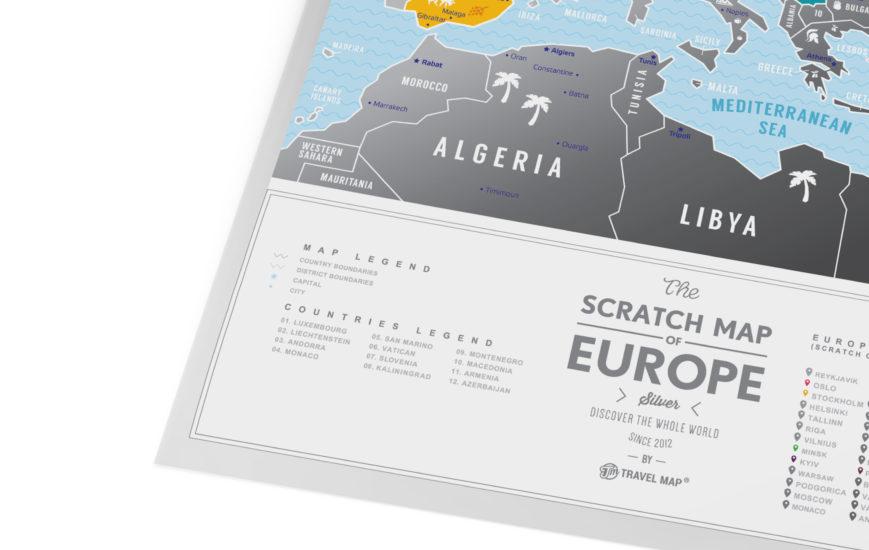 mapa silver europa