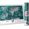 mapa zdrapka marine design wnętrze prezent