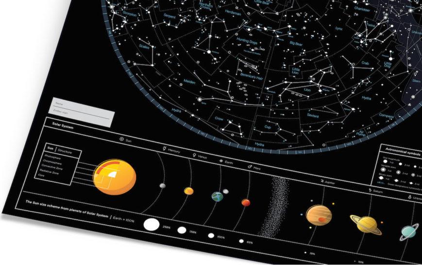 SMS STERNENHIMMEL geschenk kosmos geschaft schwarz 2