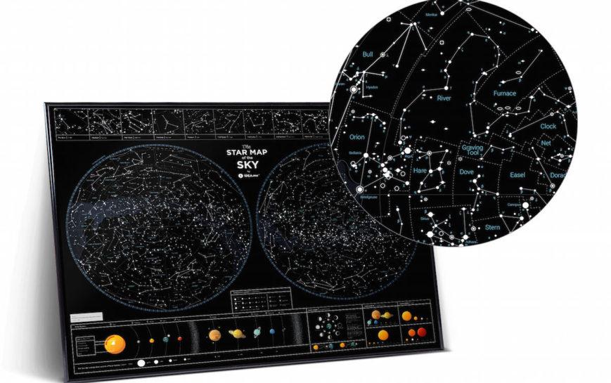 SMS STERNENHIMMEL geschenk kosmos geschaft schwarz 8