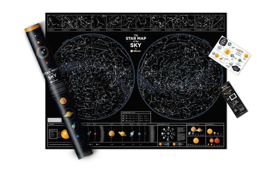 SMS STERNENHIMMEL geschenk kosmos geschaft schwarz 6