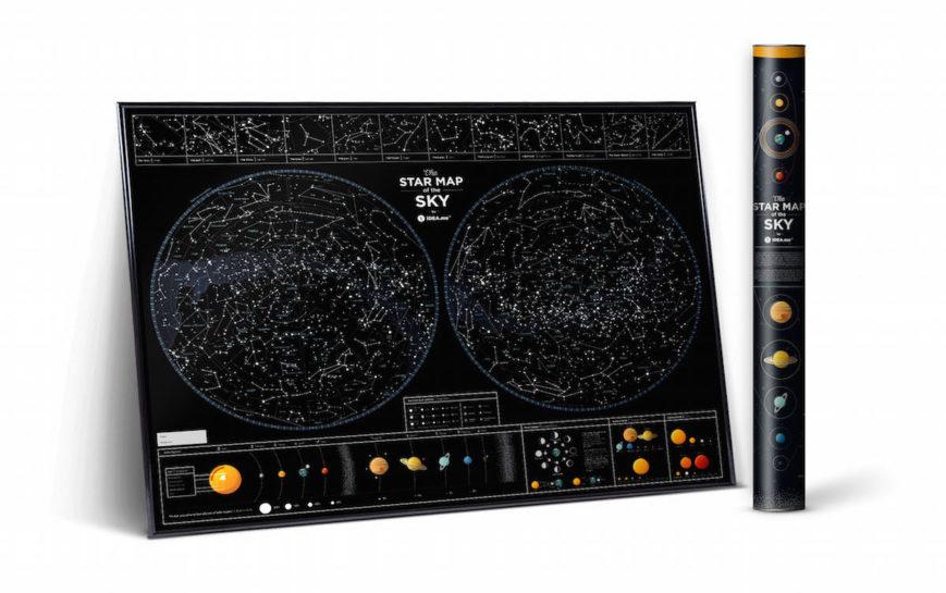 SMS STERNENHIMMEL geschenk kosmos geschaft schwarz 3