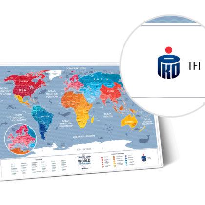 Mapa do zdrapywania PKO TFI