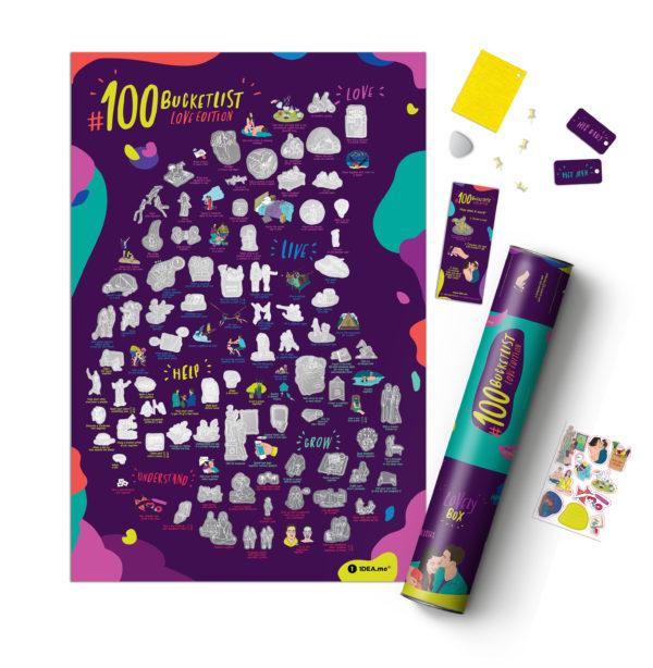 100 bucketlist prezent para love miłość