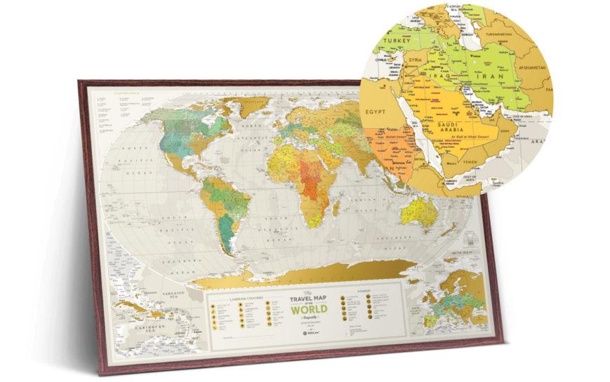 GEOW kratzer karte welt geography geschenk geschaft 2