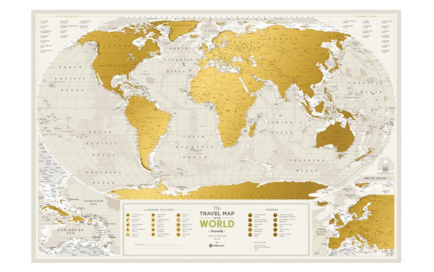 GEOW kratzer karte welt geography geschenk geschaft 10