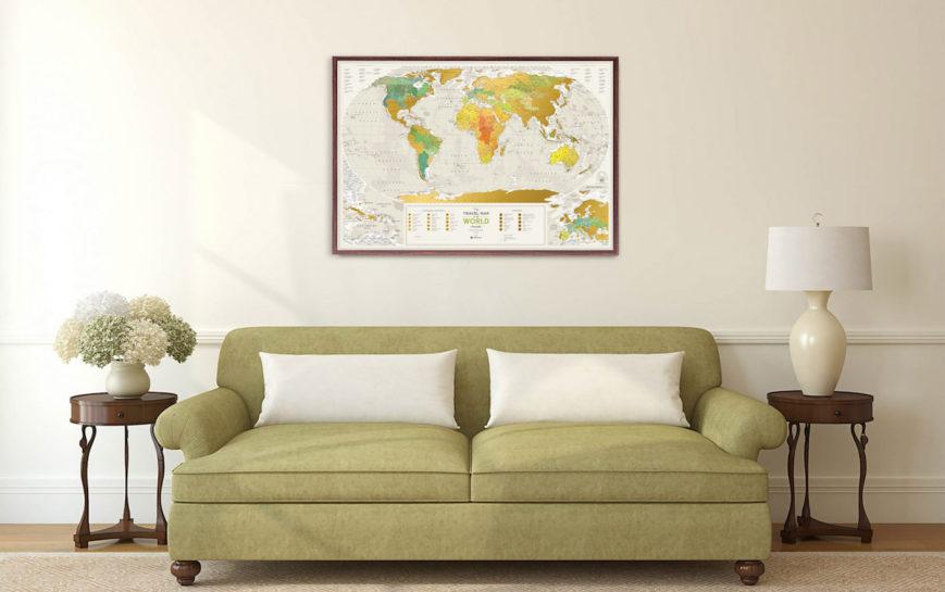 GEOW kratzer karte welt geography geschenk geschaft 8