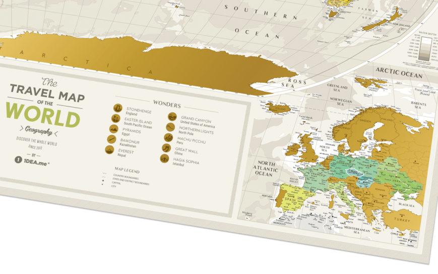 GEOW kratzer karte welt geography geschenk geschaft 7