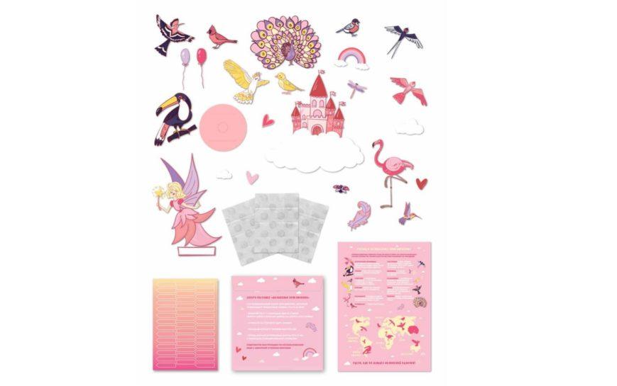 BRen Höhenmessung Kinder Kinderzimmer Geschenk Schönheit Rosa Mädchen