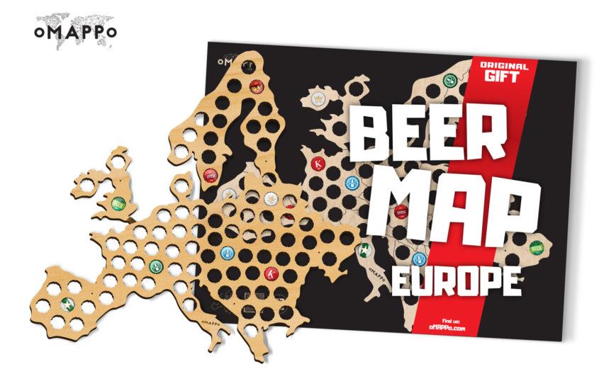 Bierkarte europa geschenk geschaft 7