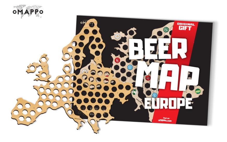 Bierkarte europa geschenk geschaft 6
