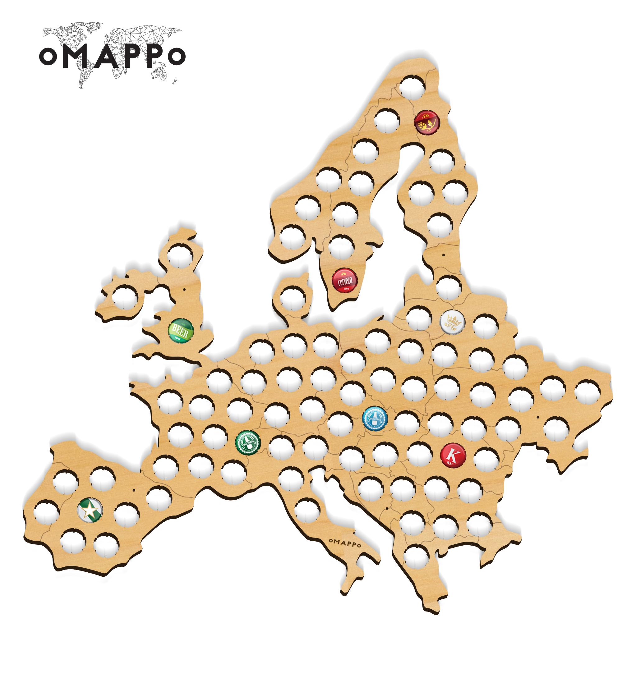 Bierkarte europa geschenk geschaft 3