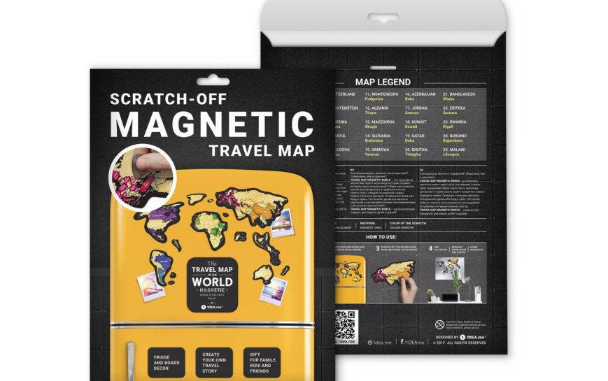 MG karte gebrige magnet welt geschenk geschaft Kratzer 9