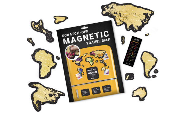MG karte gebrige magnet welt geschenk geschaft Kratzer 3