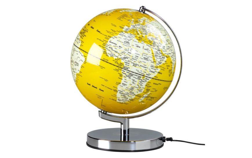 ENGLISH MUSTARD GLOBE LIGHT globus żółty