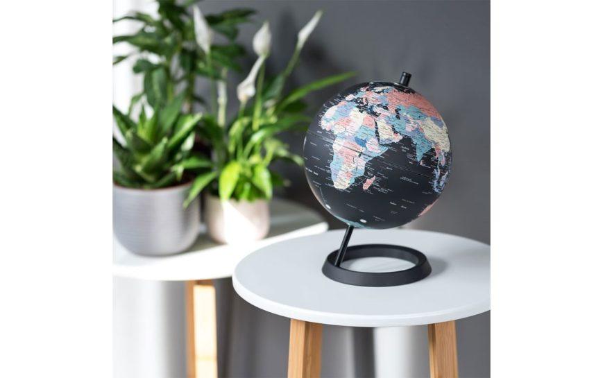 GLOBE 8 CLASSIC JET BLACK OCEAN globus prezent