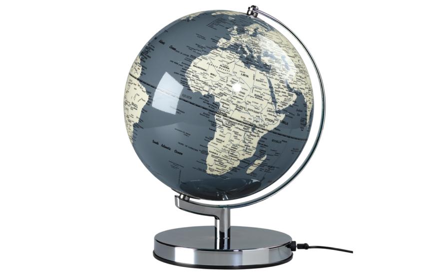 CONCRETE GREY 10 GLOBE LIGHT 2 globus szary