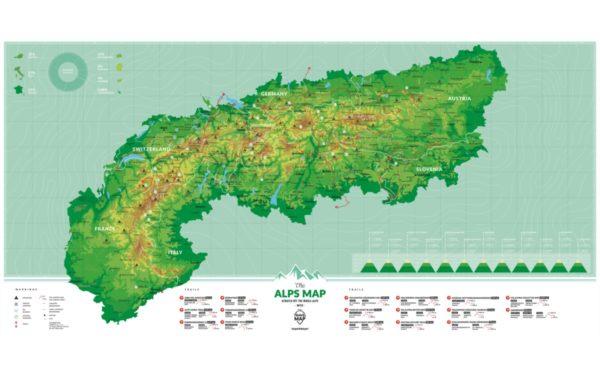 ALP rubbelkarte alpen geschenk berge 4